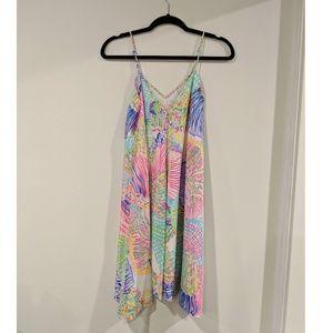 Lilly Pulitzer Clara Silk Trapeze Dress
